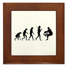 The Evolution Of The Baseball Pitcher Framed Tile