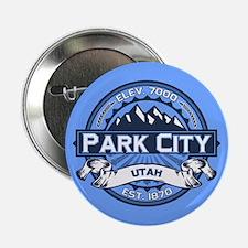 """Park City Blue 2.25"""" Button"""