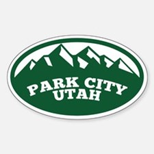Park City Sticker (Oval)