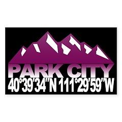 Park City Decal