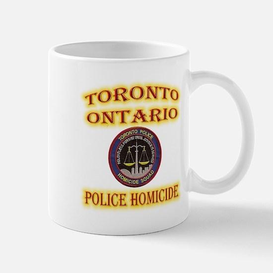 Toronto Police Homicide Mug