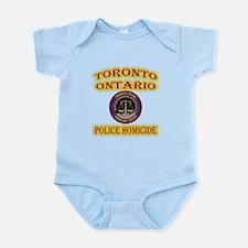 Toronto Police Homicide Infant Bodysuit