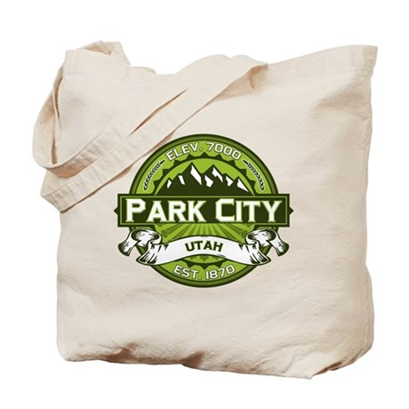 Park City Green Tote Bag
