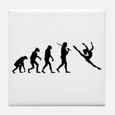 The Evolution Of The Dancer Tile Coaster