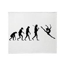 The Evolution Of The Dancer Throw Blanket