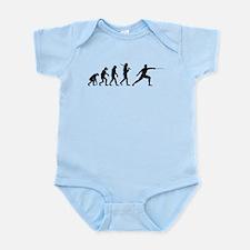The Evolution Of Fencing Infant Bodysuit