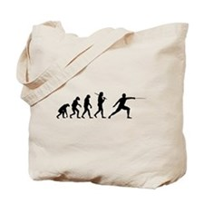 The Evolution Of Fencing Tote Bag
