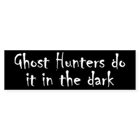 Ghost Hunters Do It Sticker (Bumper 50 pk)