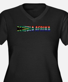 South Africa (Ndebele) Women's Plus Size V-Neck Da