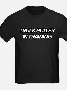 Truck Puller in Training1blk T-Shirt