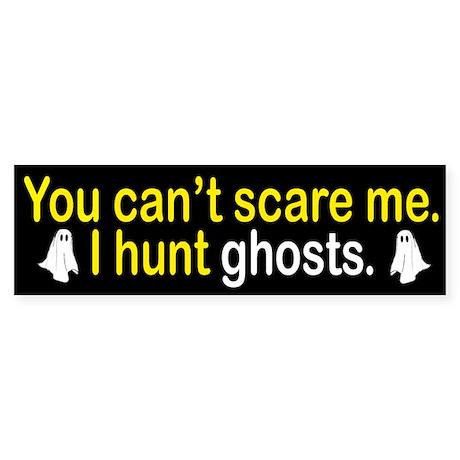 I Hunt Ghosts Sticker (Bumper)