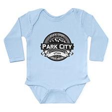 Park City Grey Long Sleeve Infant Bodysuit