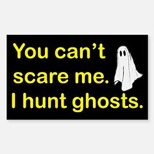 I Hunt Ghosts Decal