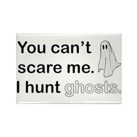 I Hunt Ghosts Rectangle Magnet (10 pack)