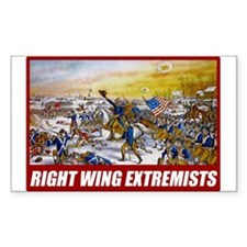 Right Wing Extremists Decal