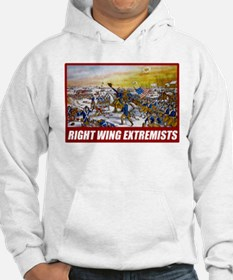 Right Wing Extremists Hoodie