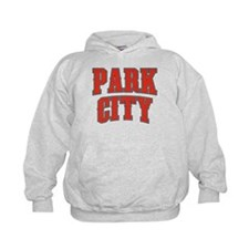 Park City Red Tackle & Twill Hoodie