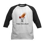 Take the Shot! Kids Baseball Jersey