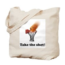 Take the Shot! Tote Bag