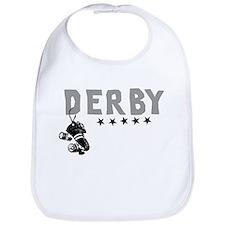 Cool Roller derby girl Bib