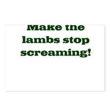 Screaming Lambs Postcards (Package of 8)