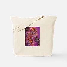 Quetzalcoatl Trinity Tote Bag