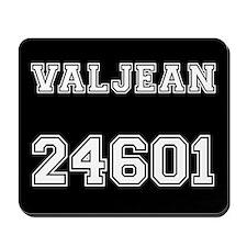 Valjean halfback Mousepad