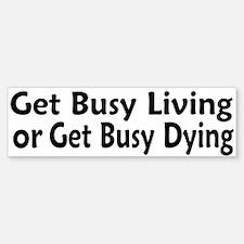 Favorite Shawshank Quote Bumper Bumper Bumper Sticker