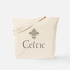 Gray Celtic Tote Bag