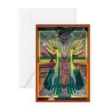 Ancient Traces Greeting Card