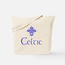 Blue Celtic Tote Bag