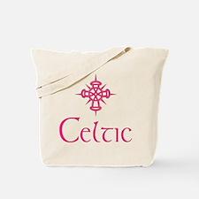 Pink Celtic Tote Bag