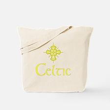 Yellow Celtic Tote Bag