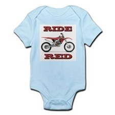 RideRed 08 Infant Bodysuit