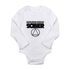 Now Available in Sober 2 Long Sleeve Infant Bodysu