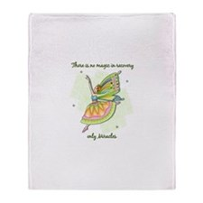 2~There is no magic in recove Throw Blanket