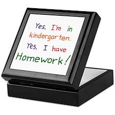 Kindergarten Keepsake Box