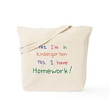 Kindergarten Tote Bag