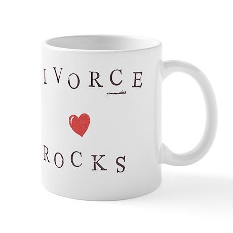 Divorce Rocks - Mug