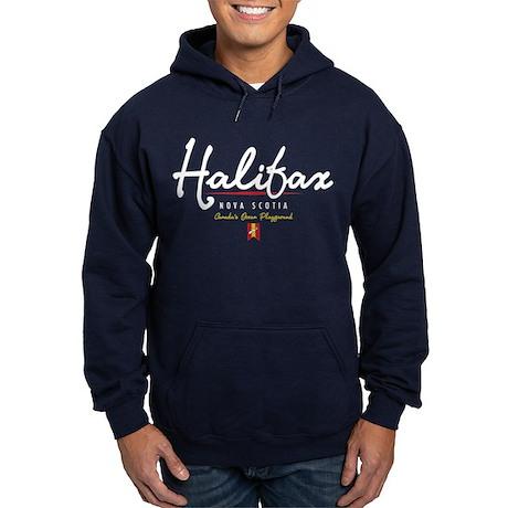 Halifax Script Hoodie (dark)