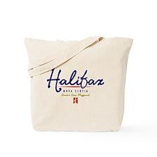 Halifax Script Tote Bag
