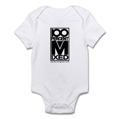 100% Mixed Infant Bodysuit