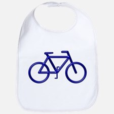 """Blue Bike"" Bib"