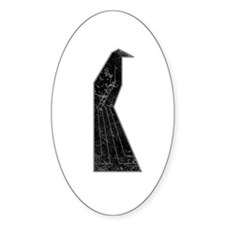 one black bird Decal