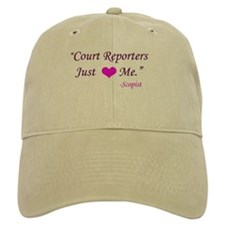 Court Reporters Just love me - Baseball Cap