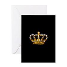 Royal Wedding Crown Greeting Card