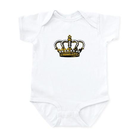 Royal Wedding Crown Infant Bodysuit