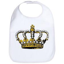 Royal Wedding Crown Bib