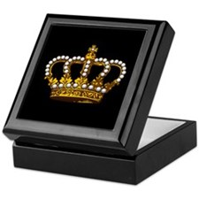 Royal Wedding Crown Keepsake Box