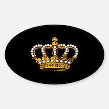 Royal Wedding Crown Decal
